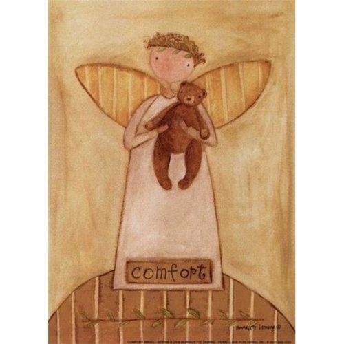Comfort Angel Poster Print by Bernadette Deming - 5 x 7