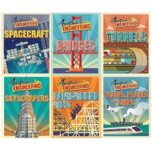Awesome Engineering Series Sally Spray Collection 6 Books Set Bridges