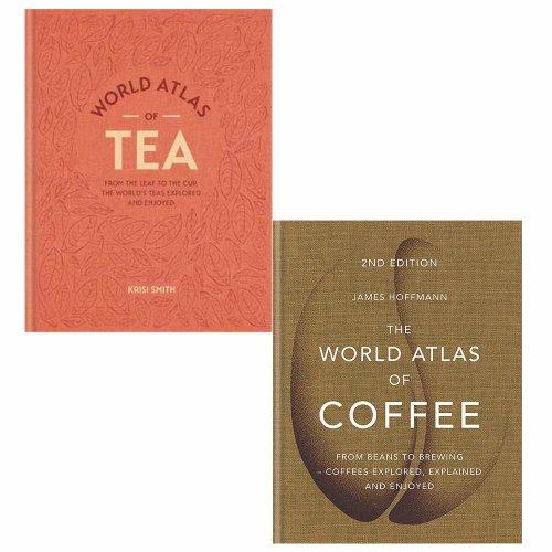 World Atlas of Tea & Coffee 2 Books Collection Set