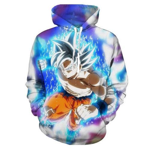 (S) Men Hoodies 3D Printed Sweatshirts Anime Hooded