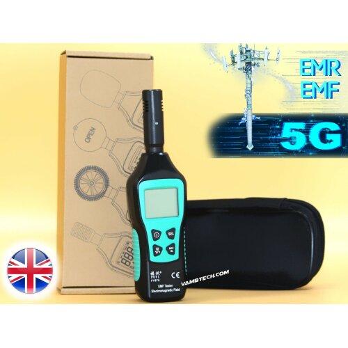 NEW EMF RADIATION METER TESTER EMF DETECTOR ELECTROMAGNETIC 4G 5G WIFI
