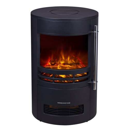 Heatsure Electric Fireplace Heater | Black Electric Stove