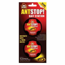 Home Defence Ant Stop Bait Station Pre-Baited Kills Ants & Nests 2 Traps