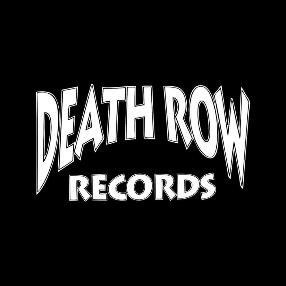 Death Row Records Logo White Mens Varsity Jacket