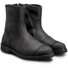 Belstaff Duration Leather Boots Black