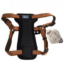 Coastal Pet 36445COG K9 Explorer Reflective Adjustable Padded Dog Harness Campfire - Orange