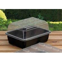Small Planting Propagator -  propagator small budget garland black x greenhouse grow plastic plants