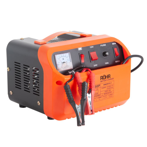 Röhr DFC-50P 45 Amp Car Battery Charger 12V/24V With Turbo & Trickle Charge