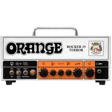 Orange Amps 4 String Electric Guitar Pack, (ROCKER-15-TERROR)