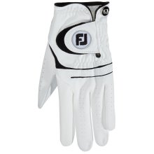 FootJoy WeatherSof Golf Gloves, White, ML - pack of 1