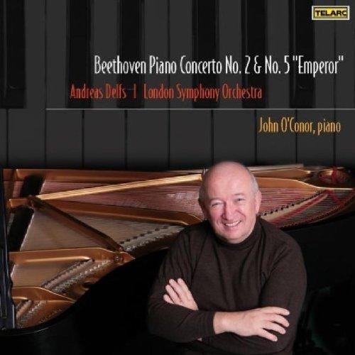 Udwig Van Beethoven - Beethoven: Piano Concerto No. 2 and No. 5 Emperor [CD]