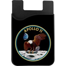 NASA Apollo 11 Mission Badge Phone Card Holder