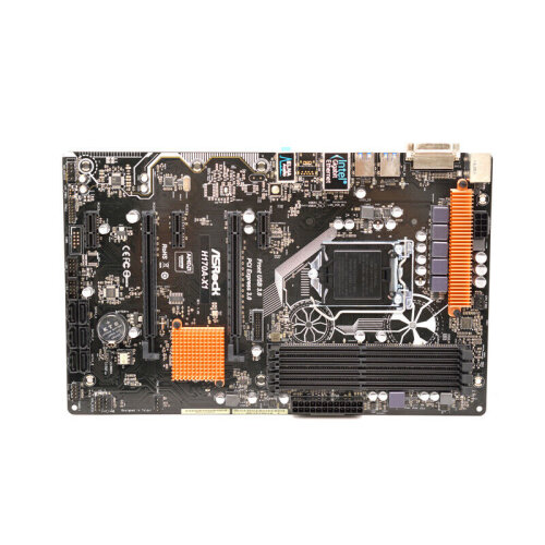 For ASROCK H170A-X1 Motherboard DDR4 LGA1151 ATX Support 6700k 7700K Tested - Used