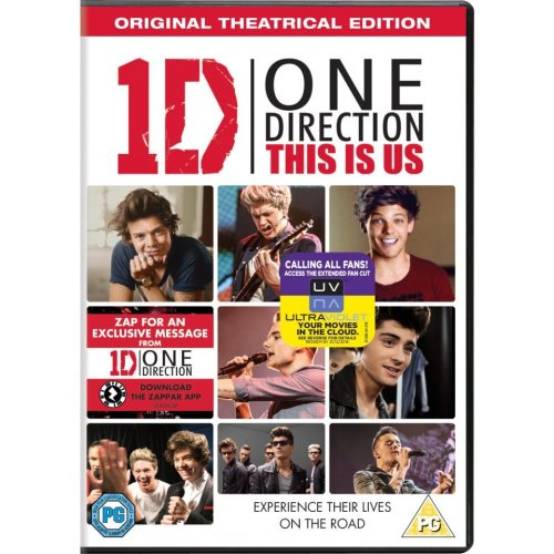 One Direction - This Is Us DVD [2013]