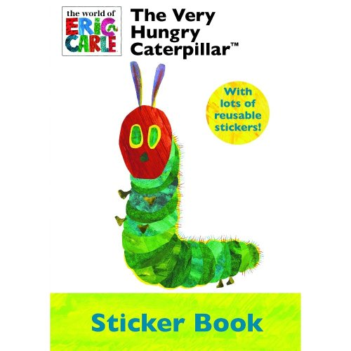 The Very Hungry Caterpillar Sticker Book & Stickers Party Favour Activity Set Kids