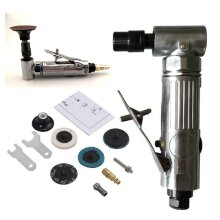 """1/4"""" Air Angle Die Grinder Pneumatic Grinding Machine Cut-Off Polisher"""