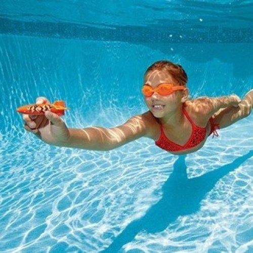 SwimWays 4pc Toypedo Bandits | Diving & Underwater Pool Toy