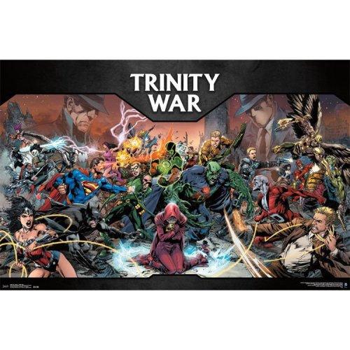 """Poster - Studio B - DC Comics - Trinity War  23""""x35"""" Wall Art p4302"""