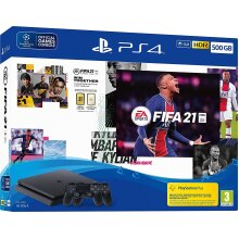 EA SPORTS FIFA 21 500GB PS4 CONSOLE + SECOND DUALSHOCK 4 WIRELESS CONTROLLER BUNDLE