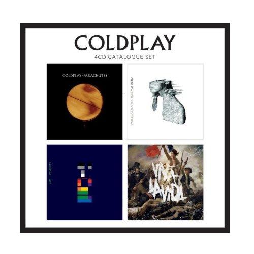 Coldplay - 4 CD Catalogue Set | CD Album Box Set