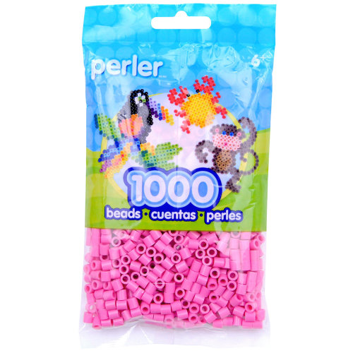Perler Beads 1,000/Pkg-Bubble Gum