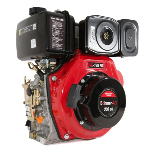 Bohmer-AG 178-FD Portable Diesel Engine 6HP Single Cylinder 300cc