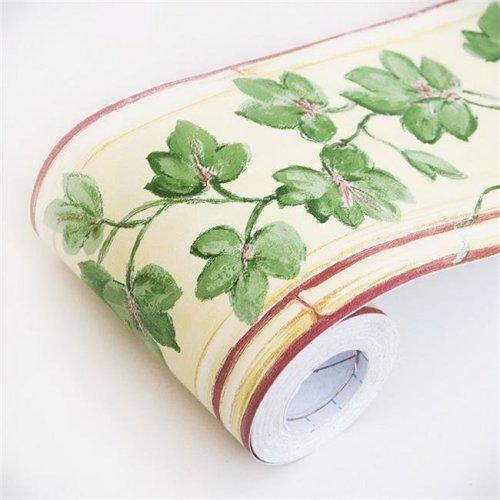 Spring Vines - Self-Adhesive Wallpaper Borders Home Decor  Multicolor