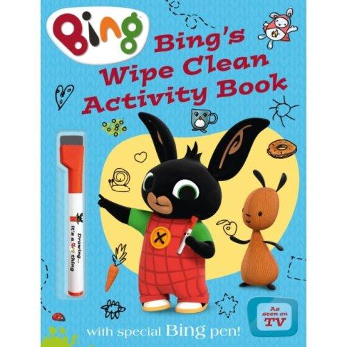 Bing's Wipe Clean Activity Book (Bing) (Paperback)