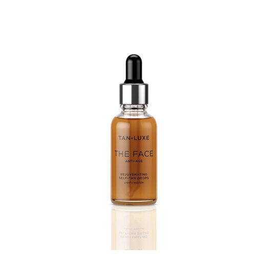 Tan-Luxe The Face Anti-Age Rejuvenating Self-Tan Drops Light/Medium - 30ml