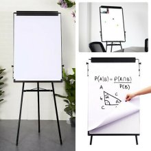 Tripod Whiteboard Magnetic Large Standing Flip chart Easel Lightweight