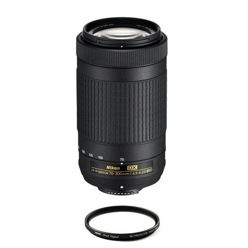 NIKON AF-P 70-300MM F4.5-6.3G ED DX + HOYA 58mm PRO 1D Protector