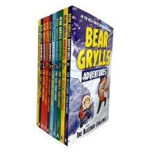 Bear Grylls Adventure Collection 10 Books Set