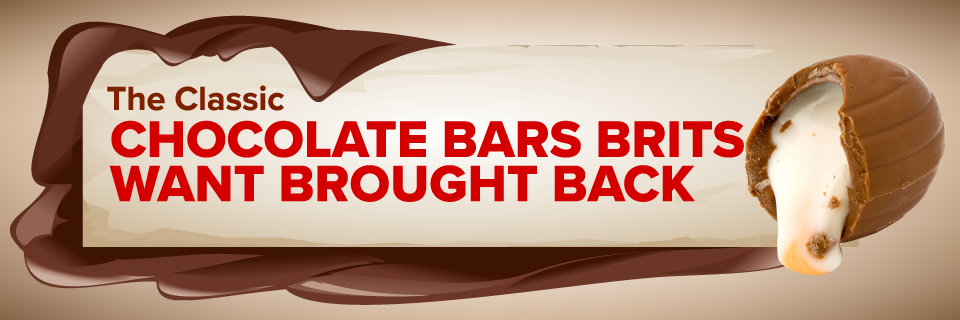 The Classic Chocolate Bars Brits Want Back