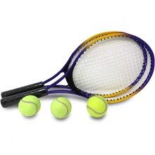 E-Deals Two Tennis Racket and Three Tennis Balls Set for children