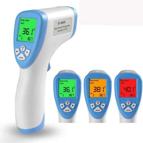 Baby Thermometer, Non Contact, Infrared, Digital Thermometer with with Alarm LCD Function