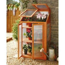 Wooden Greenhouse Plant Growhouse