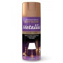 Rust-Oleum AE0110003E8 Metallic Elegant Metallic Copper Spray Paint 400ml
