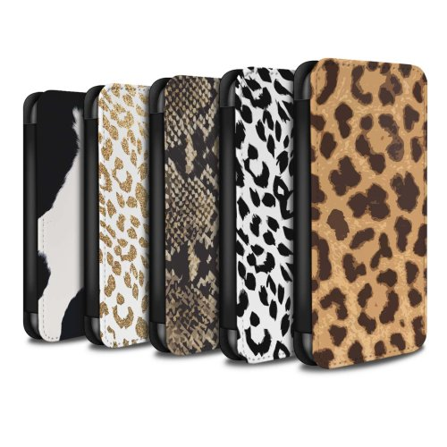 Fashion Animal Print Pattern Apple iPhone 6 Phone Case Wallet Flip Faux PU Leather Cover for Apple iPhone 6