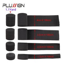 Plussign Wig Elastic Band 15 25 35 40Mm Knit Band Waistband Elastic For Wig & Extension Thick Great Wide Elastic Bands 1.1 Yard
