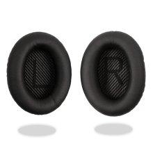 Black Ear Cushion Kit Bose QuietComfort 35 QC35 Headphones Pads Cups Replacement