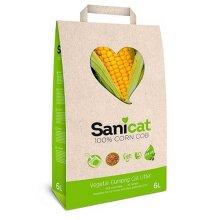 Sanicat Clumping Corn Cat Litter