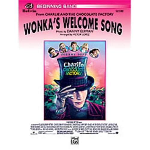 Alfred 00-24724 WONKAS WELCOME SONG-PBB