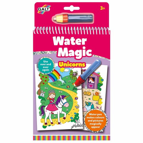 Galt Toys Water Magic-Unicorns Re-usable Couring Board Book