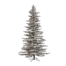 Sterling 5869--75MLWW 7.5 ft. Pre-Lit Flocked Wyoming Snow Pine with 6672 LED Micro Lights