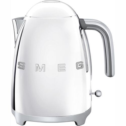 Smeg KLF03SSUK 50's Retro Chrome Kettle Limescale Filter 3000 Watt