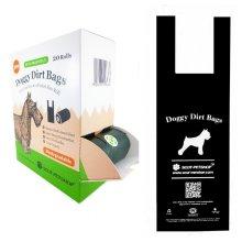 Scot Petshop 300 Dog waste Bags Eco Friendly Waste Bags | Tie Handles
