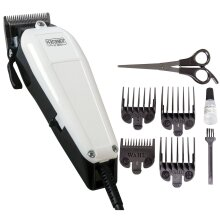 Wahl Performer Dog Animal Shaver Clipper Kit - Steel Blades, 4 x Combs, Scissors