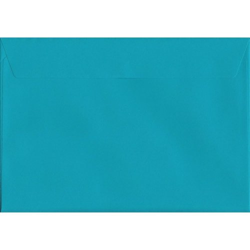 Caribbean Blue 162mm x 229mm Peel//Seal 120gsm C5//A5 Envelopes