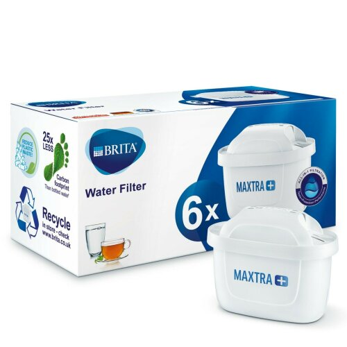 6pk BRITA Maxtra+ Water Filter Cartridges