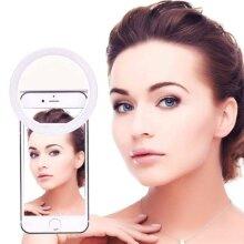 Selfie LED Light Ring Clip Camera Fill Light Lamps For Phone